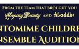 Pantomime Children's Ensemble Auditions - Cinderella 2016