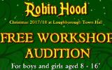 Pantomime Children's Ensemble Auditions for ROBIN HOOD