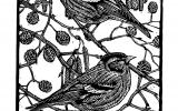 British Wildlife Lino Printing Workshop with Richard Jarvis