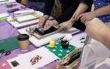 Paper Stencil Screen Printing Workshop with Sarah Holden