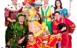 Behind the Scenes with the Panto Cast