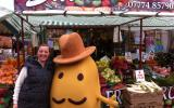 Mr Potato in the Market Place