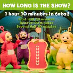 Teletubbies Running Time
