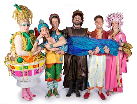 Aladdin - Christmas and New Year panto 2015 at Loughborough Town Hall - 01509 231 914