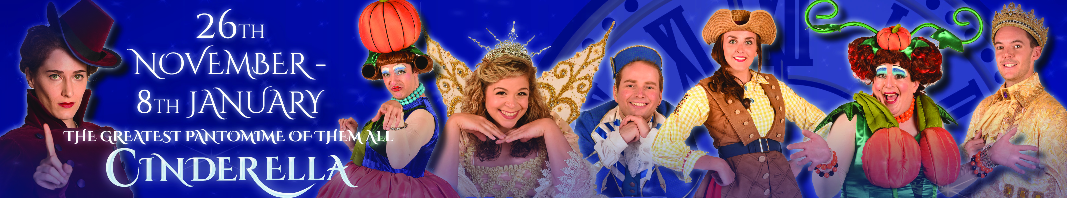Cinderella 26th November 2016 to 8th January 2017